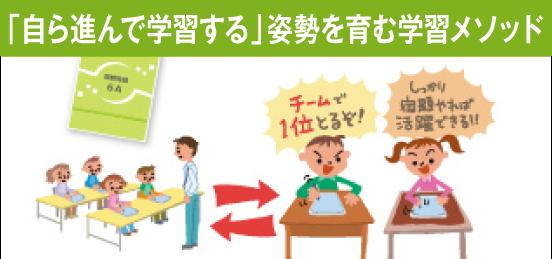 イベント性の高い講座で家庭学習を定着